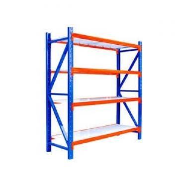Wide Span Warehouse Storage Racking System Boltless Commercial Shelving